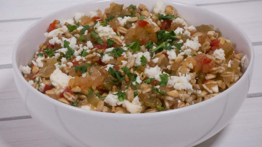 Apple Relish Farro Salad