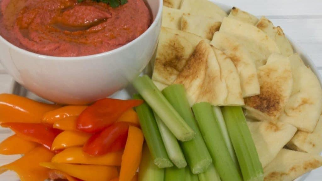 Sweet Pickled Beet Hummus