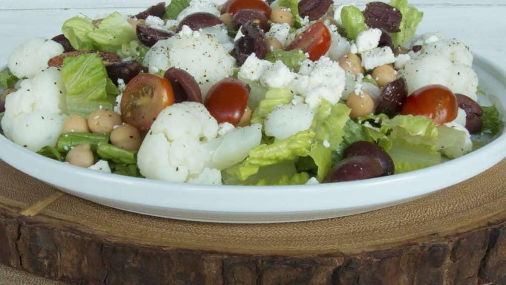 Dilled Greek Salad