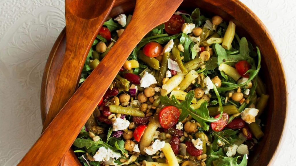 Easy Spring Bean Salad Recipe