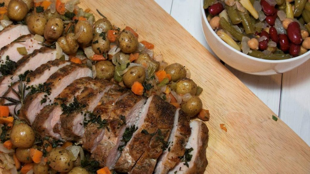 Family Style Pork Roast