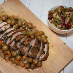 family-style-roast-with-potatoes-and-bean-salad