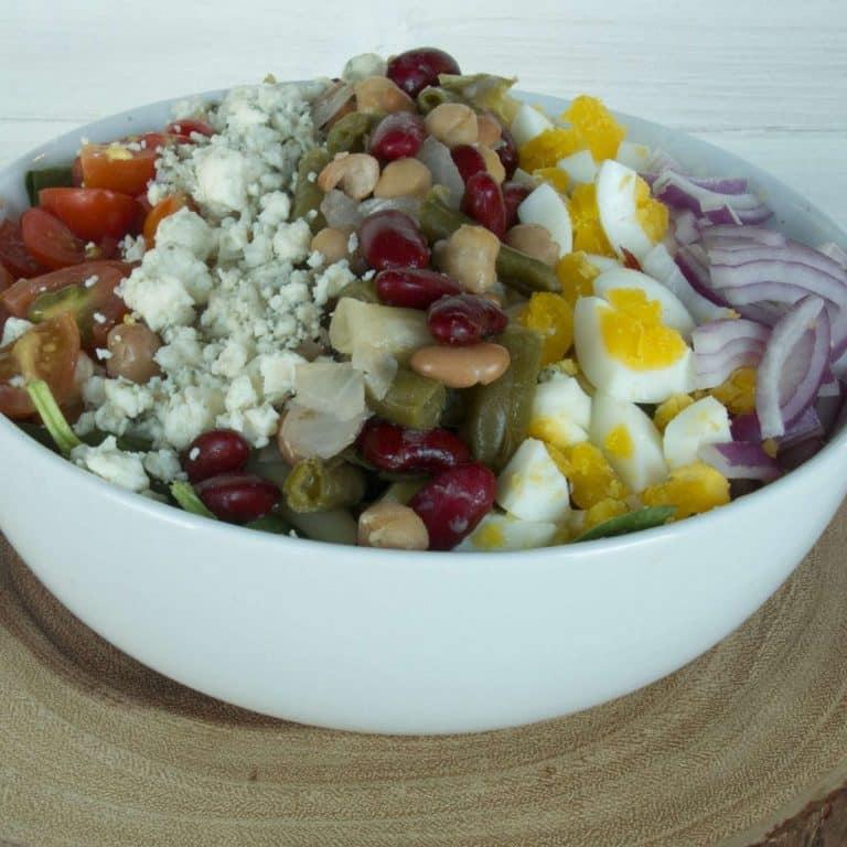 five-bean-vegetarian-cobb