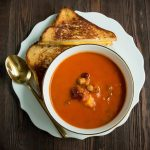 four-bean-tomato-soup