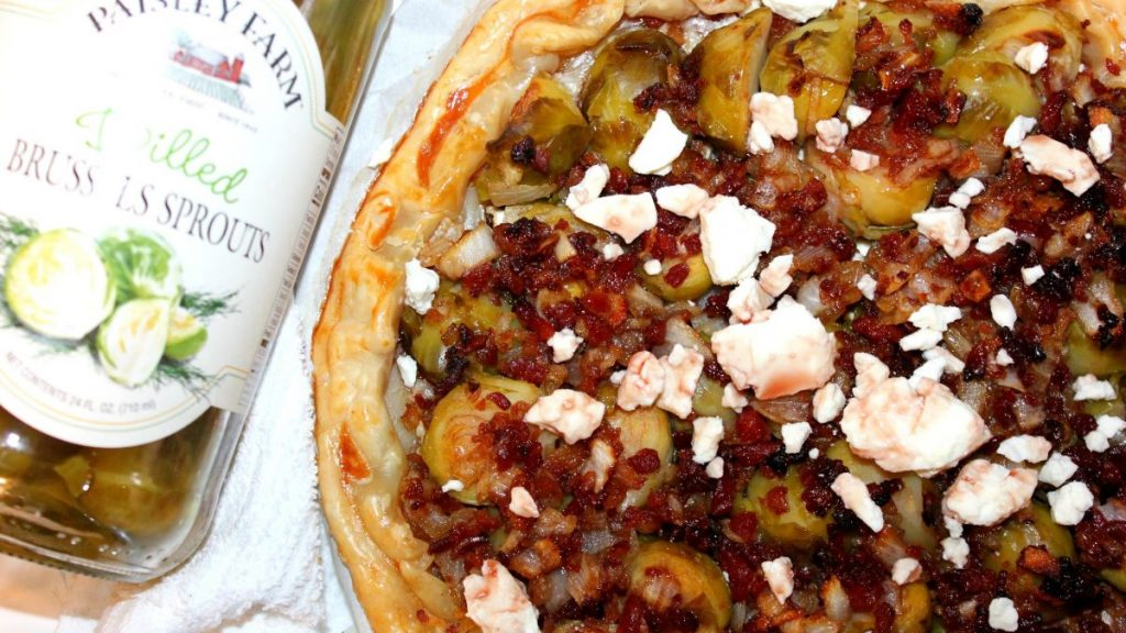 Bacon & Brussels Tart