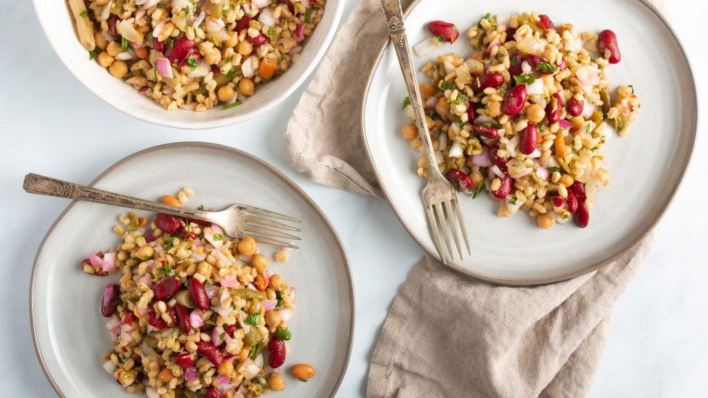 Barley and Bean Salad