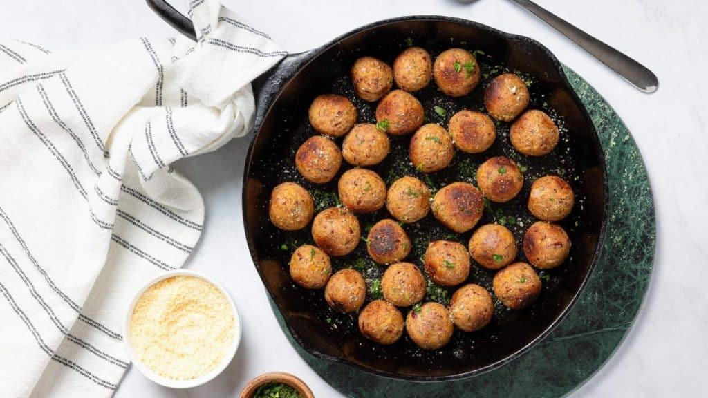Five Bean Meatballs