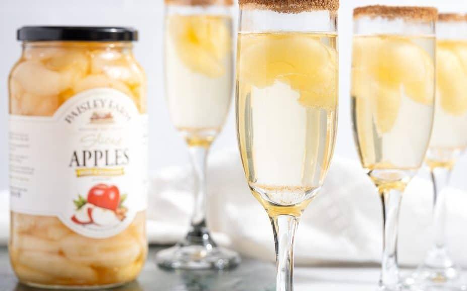 Paisley Farm Apple Cinnamon Mocktail